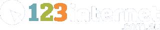 123 Internet Logo